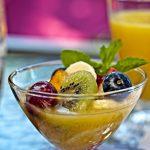Fruit Dish Breakfast at Fairbanks House