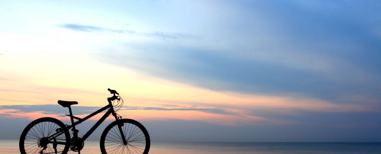 bike on a beach