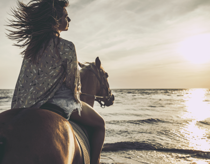 Horseback Riding on the Beach Outdoor Activities