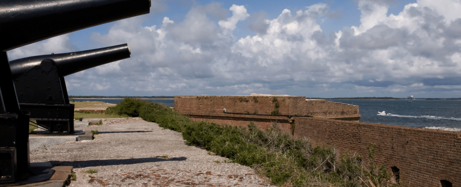 Cannons on Ft Clinch State Park